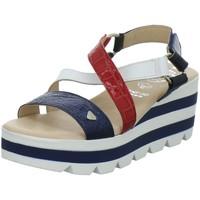 Schuhe Damen Sandalen / Sandaletten Idana Sandaletten 282387837 blau