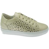 Schuhe Damen Wanderschuhe Calzaturificio Loren LOC3887be blu