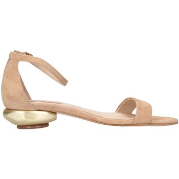 Schuhe Damen Sandalen / Sandaletten Tsakiris Mallas 608 NASIA 6-1 Sandalen Frau beige beige