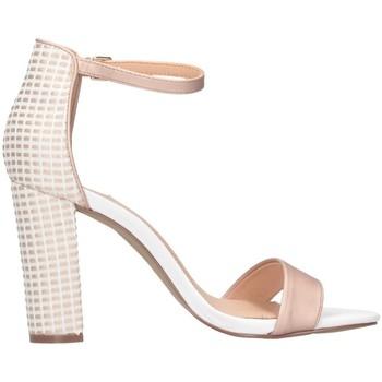 Schuhe Damen Sandalen / Sandaletten Exé Shoes Exe' LIDIA-360 Sandalen Frau Nude / weiß Nude / weiß