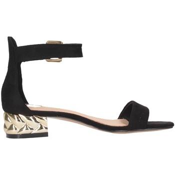 Schuhe Damen Sandalen / Sandaletten Exé Shoes Exe' KATY-624 Sandalen Frau schwarz schwarz