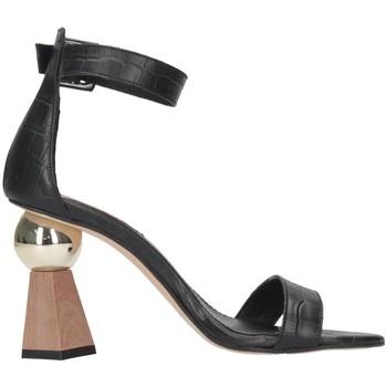Schuhe Damen Sandalen / Sandaletten Tsakiris Mallas 798 ATOMIUM 6-1 Sandalen Frau schwarz schwarz