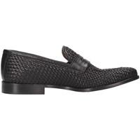Schuhe Herren Slipper Arcuri 1012_5 Halbschuhe Mann schwarz schwarz