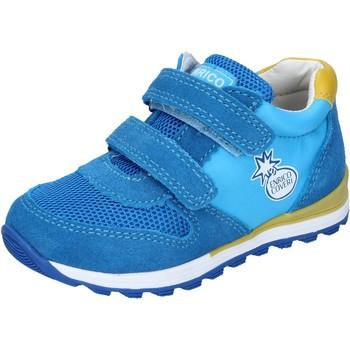 Schuhe Jungen Sneaker Low Enrico Coveri BN680 hellblau