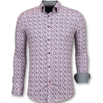 Kleidung Herren Langärmelige Hemden Tony Backer Slim Hemd Ober Rosa