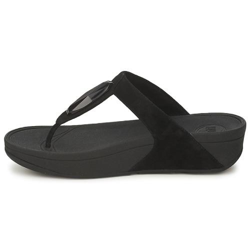 FitFlop CHADA Schwarz - Schuhe Zehensandalen Damen 59,90