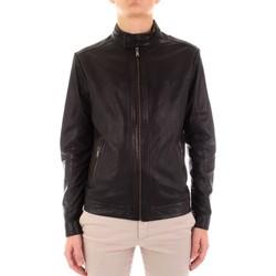 Kleidung Herren Lederjacken / Kunstlederjacken Yes Zee J516-JA00 schwarz