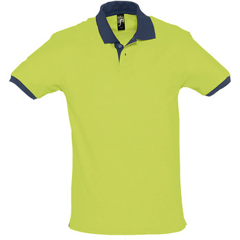 Kleidung Polohemden Sols PRINCE COLORS Verde