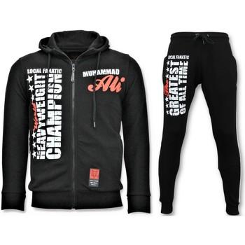 Kleidung Herren Jogginganzüge Local Fanatic R Jogginganzug Für Muhammad Ali Schwarz