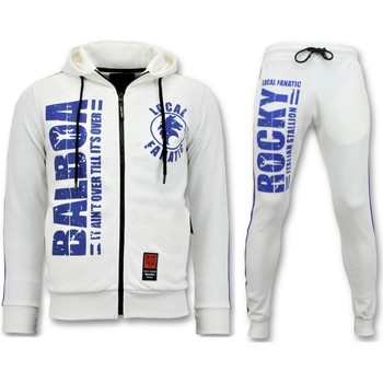 Kleidung Herren Jogginganzüge Local Fanatic R Trainingsanzug Rocky Balboa Sportanzug Weiß
