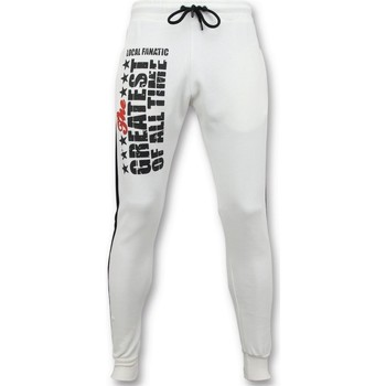 Kleidung Herren Jogginghosen Local Fanatic Jogginghose Muhammad Ali Trainingshose Weiß