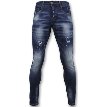 Kleidung Herren Slim Fit Jeans True Rise Pants Jeans Paint D Blau