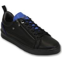 Schuhe Herren Sneaker Low Cash Money Sneaker Maximus Black Blue Schwarz