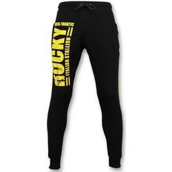 Kleidung Herren Jogginghosen Local Fanatic Trainingshose Rocky Italian Schwarz