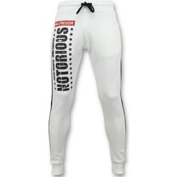 Kleidung Herren Jogginghosen Local Fanatic Trainingshose McGregor Notorious Sweatpants Weiß