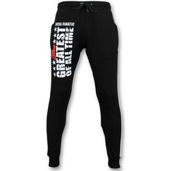 Kleidung Herren Jogginghosen Local Fanatic Jogginghose Muhammad Ali Trainingshose Schwarz