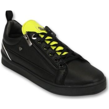 Schuhe Herren Sneaker Low Cash Money Sneaker Maximus Black Yellow Schwarz