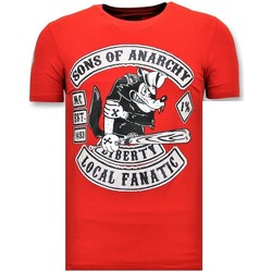 Kleidung Herren T-Shirts Local Fanatic S Sons Of Anarchy MC Rot