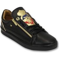 Schuhe Herren Sneaker Low Cash Money Prince Full Black Schwarz