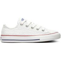Schuhe Kinder Sneaker Low Converse Chuck taylor all star ox Weiss