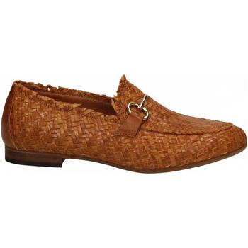 Schuhe Damen Slipper Mat:20 LENNY INTRECCIO cuoio