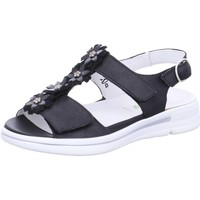Schuhe Damen Sandalen / Sandaletten Waldläufer Sandaletten BRONX TAIPEI DENVER 226004-302/001 001 schwarz