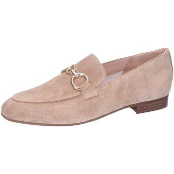 Schuhe Damen Slipper Maripé Slipper Sensory Crepe Morsetto Oro 30302-8905-N6 beige