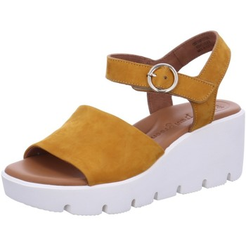 Schuhe Damen Sandalen / Sandaletten Paul Green Sandaletten 7366016 gelb