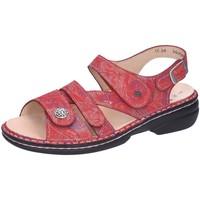 Schuhe Damen Sandalen / Sandaletten Finn Comfort Sandaletten Gomera 02562,657420 rot