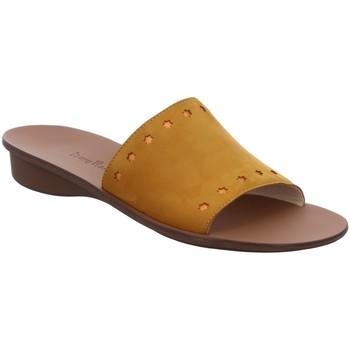 Schuhe Damen Pantoletten / Clogs Paul Green Pantoletten 7550036 gelb