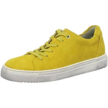 Schuhe Damen Sneaker Sioux Schnuerschuhe Tils Sneaker-D 001 65360 gelb