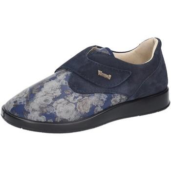 Schuhe Damen Slipper Florett Slipper Teneriffa Weite L 60815-25 blau