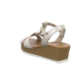 Paul Green Sandaletten 7597 7597-016 gold - Schuhe Sandalen / Sandaletten Damen 12995