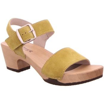 Schuhe Damen Sandalen / Sandaletten Softclox Sandaletten Kea FS S 3380 kaschmir senf gelb