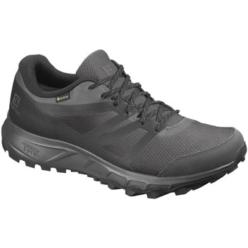Schuhe Herren Laufschuhe Salomon Sportschuhe Trailster GTX L40963100 grau