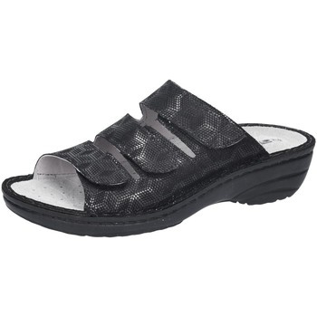 Schuhe Damen Pantoletten / Clogs Rohde Pantoletten Cremona Weite H 5772/90 schwarz