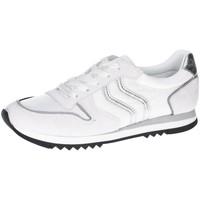 Schuhe Damen Derby-Schuhe & Richelieu Maripé Schnuerschuhe Camoscio Ghiaccio Limon 100 30250-5463-5 weiß