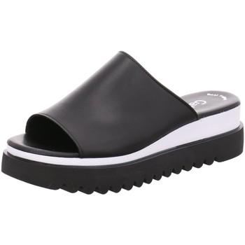 Schuhe Damen Pantoletten / Clogs Gabor Pantoletten 44.613.27 schwarz