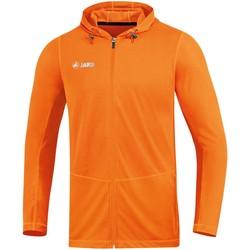 Kleidung Herren Jacken Jako Sport Run 2.0 Kapuzenjacke Running Orange F19 6875 Other