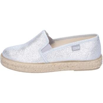 Schuhe Mädchen Slip on Enrico Coveri BN701 silber