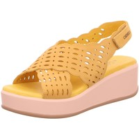 Schuhe Damen Sandalen / Sandaletten Carmela Sandaletten 67276 gelb