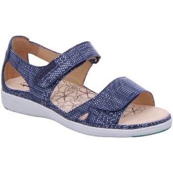 Schuhe Damen Sandalen / Sandaletten Ganter Sandaletten 9-200143-3500 blau