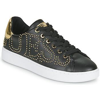 Schuhe Damen Sneaker Low Guess RAZZ Schwarz