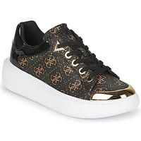Schuhe Damen Sneaker Low Guess BRANDYN Braun