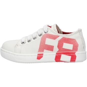 Schuhe Jungen Sneaker Low Falcotto - Sneaker bianco ALANIS-1N10 BIANCO