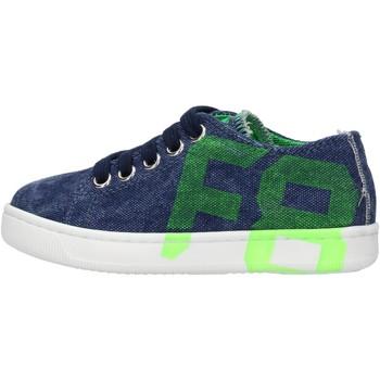 Schuhe Jungen Sneaker Low Falcotto - Sneaker blu ALANIS-1C90 BLU