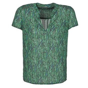 Kleidung Damen Tops / Blusen Ikks BR11055 Grün