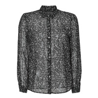 Kleidung Damen Hemden Ikks BR12025 Schwarz