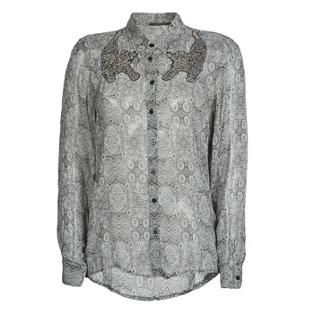 Kleidung Damen Hemden Ikks BR12055 Schwarz
