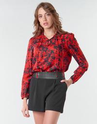 Kleidung Damen Tops / Blusen Ikks BR13085 Rot